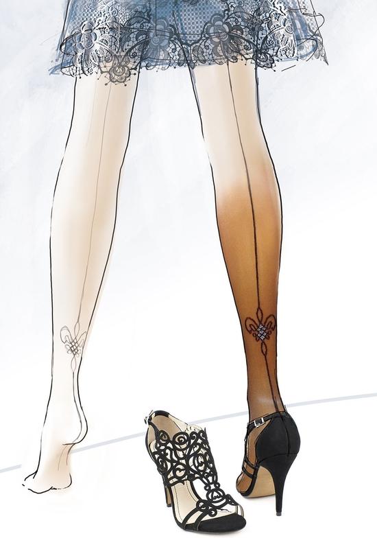 Punčochové kalhoty Gatta Ronna 23